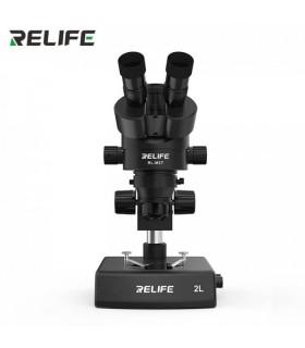 لوپ سه چشمی تعمیرات موبایل مدل RELIFE M3T-2L