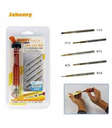 پیچ گوشتی 6 تکه Jakemy JM-8140