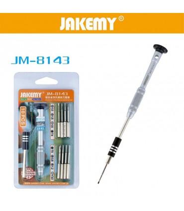 ست پیچ گوشتی JAKEMY JM-8143