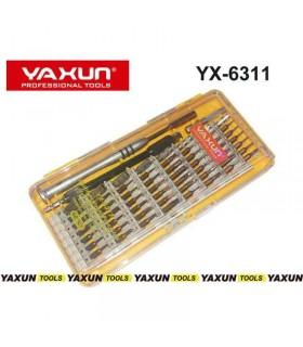 ست پیچ گوشتی Yaxun YX-6311