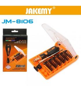 ست پیچ گوشتی Jakemy JM-8106