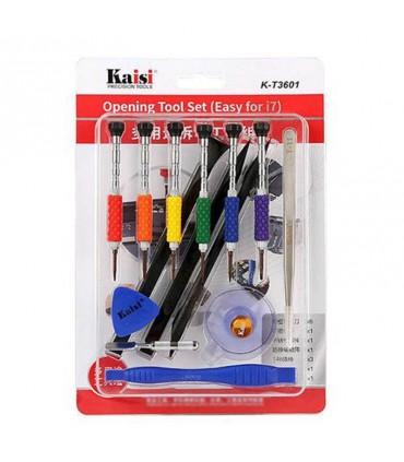 ست ابزار تعمیرات موبایل Kaisi K-T3601