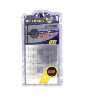 شابلون مکانیک تعویض آی سی آیفون Mechanic S24 iPhone 8/8 Plus