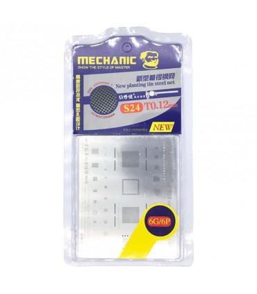 شابلون تعویض آی سی آیفون مکانیک Mechanic S24 iPhone 6/6 Plus