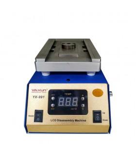 دستگاه تعویض گلس , تنور ال سی دی و دستگاه تاچ بردار سپراتور و جداکننده گلس Yaxun YX 991